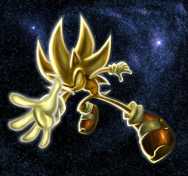 Super Sonic By Raito Sarudoi On Deviantart