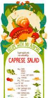 Recipe with no Animal 6: Caprese Salad
