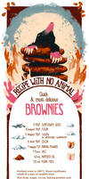Recipe with no Animal: Brownies