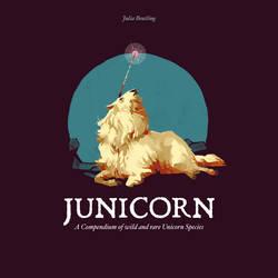 Junicorn book cover by Gnulia