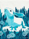 Tiny Inklings - Rabbit remembrance