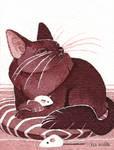 Tiny Inklings - Kitty decadence