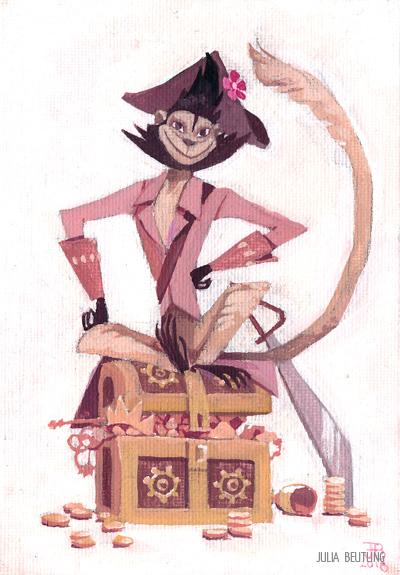 Capt'n Tessa by Gnulia