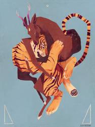 Morph - Tiger and Deer by Gnulia
