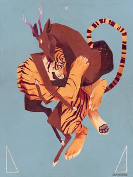 Morph - Tiger and Deer