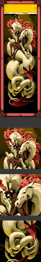 Monstrous Families - Kelpies