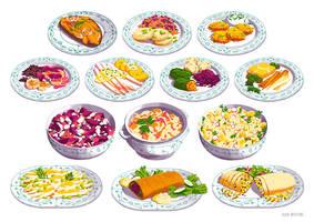 Bauer Boltes bestes Gemuese - meal vignettes #2