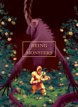 Being Monsters - Comic cover