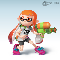 Inkling Girl by SeanHicksArt