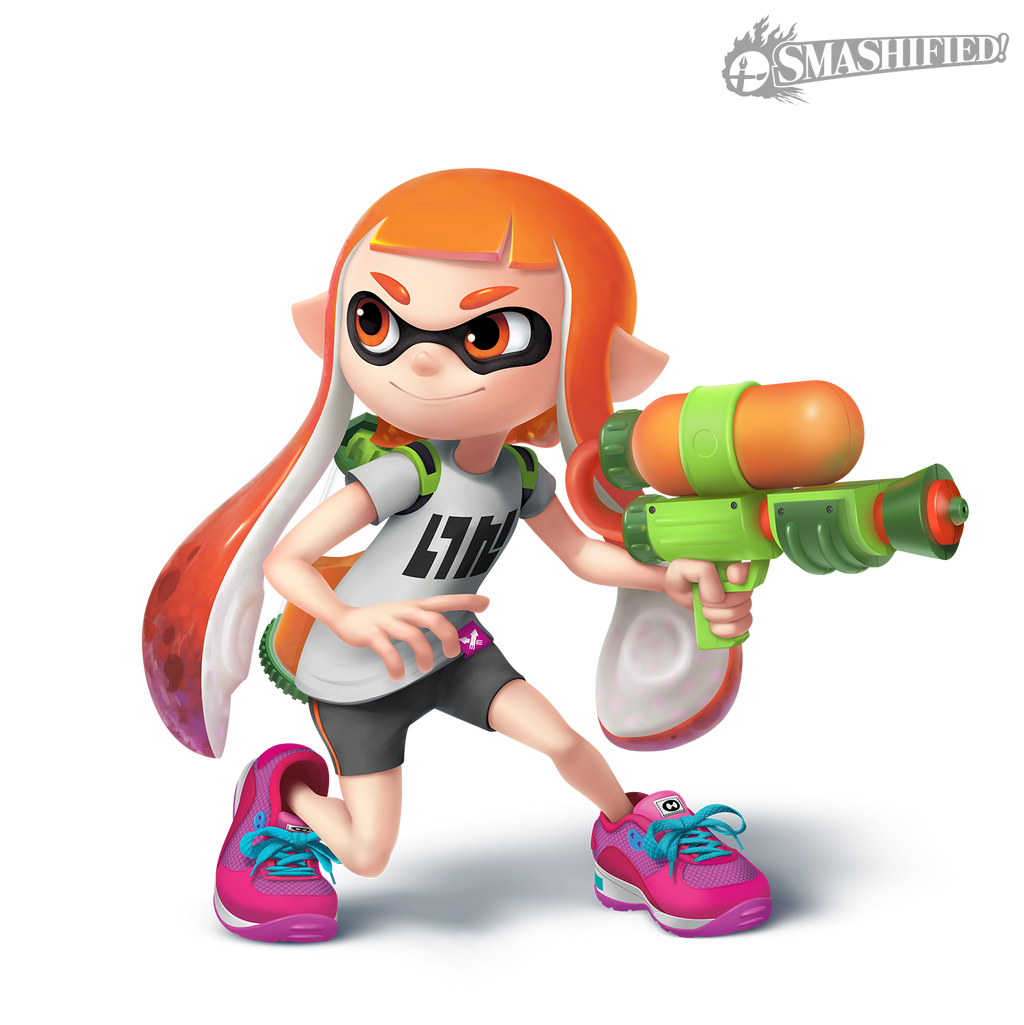 Inkling Girl Transparent By Sean The Artist On Deviantart