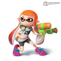 Inkling Girl- Transparent by SeanHicksArt