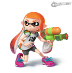 Inkling Girl- Transparent