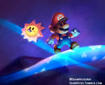 Mar10 Day Celebration- Paper Mario speedpaint