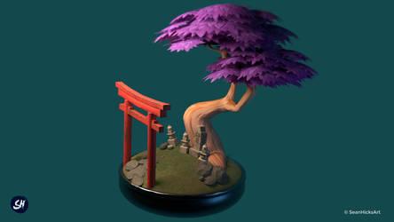 Sacred Bonsai Diorama