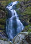 Lakes waterfall stock