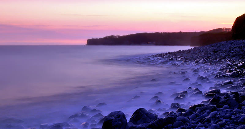 Long exposure nr Nash point by AngiWallace