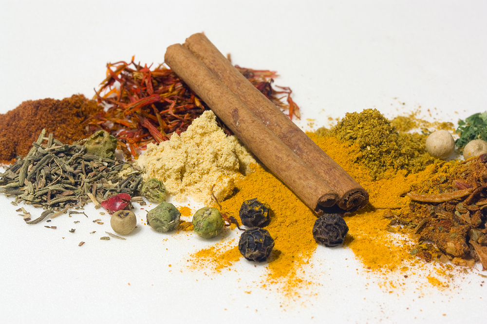 Spices for curry by AngiWallace