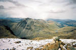 Great Gable from Scafell stock