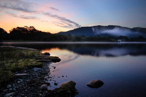 Derwentwater dawn by AngiWallace