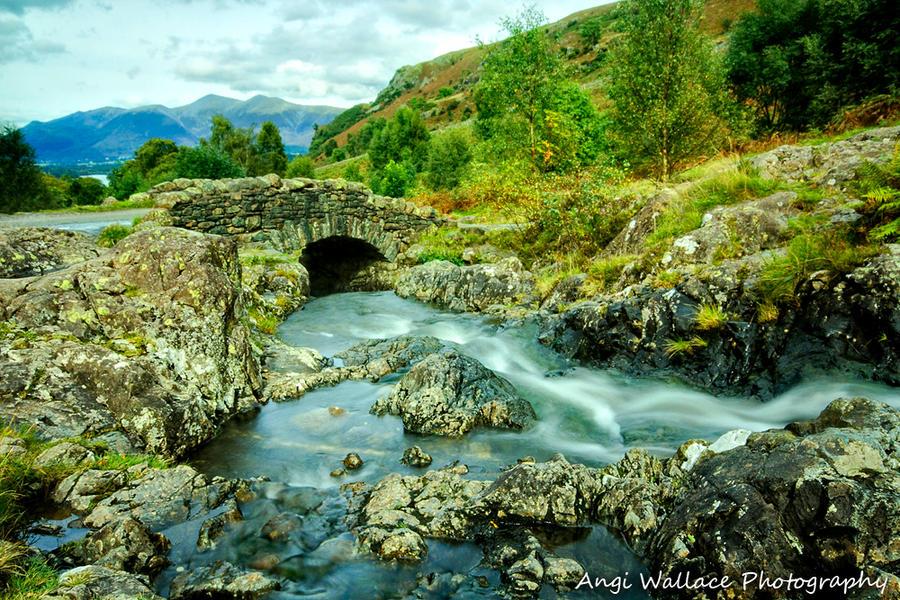 Ashness bridge by AngiWallace