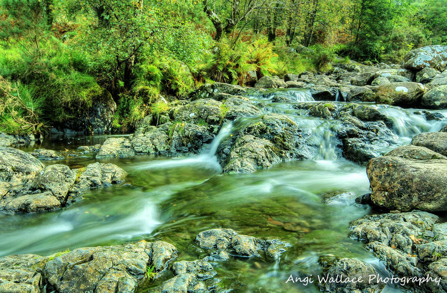 Ashness stream by AngiWallace
