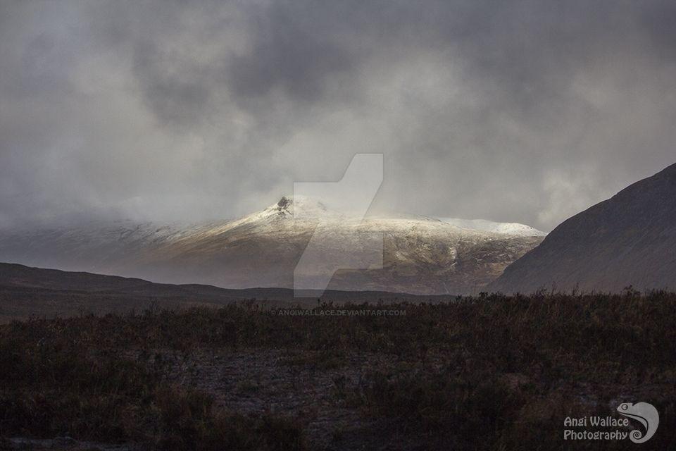 Bleak Scottish winter by AngiWallace