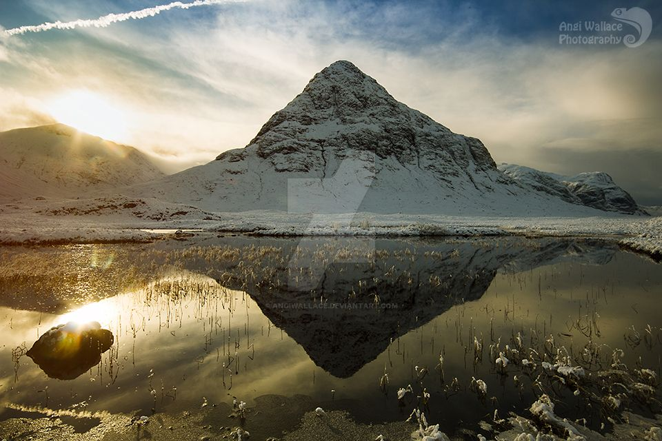 Wintery reflections by AngiWallace