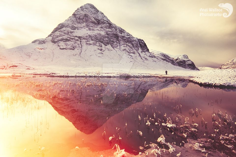 Scottish winter sunshine by AngiWallace