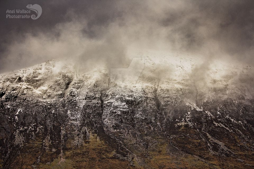 Storm in Glencoe by AngiWallace
