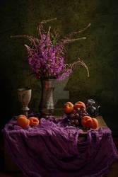 Rosebay Willow Herb still life