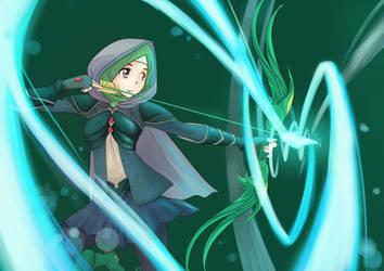 Aya - greenranger by hakimizu