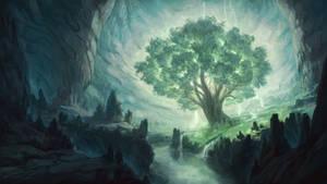 Magic Tree In The Underdark