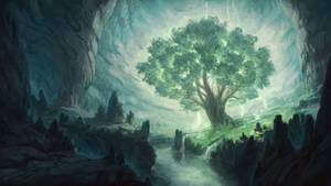 Magic Tree In The Underdark by stephengarrett1019