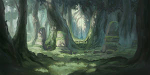 Ancient Forest by IreAzure