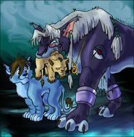 Tiny Nox family 2 by Ravendyn