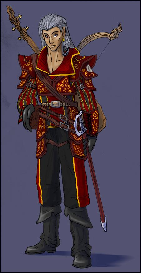 DnD - Ed the Bard by Ravendyn