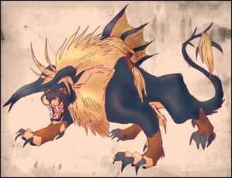 Beastly Version One by Ravendyn