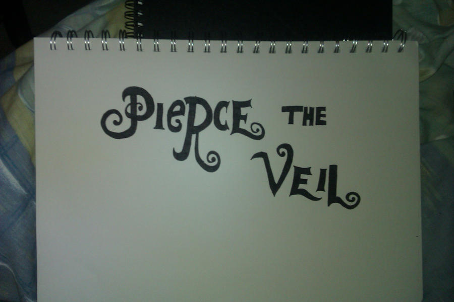 pierce the veil logo sketch by caitylikesturtles on deviantart