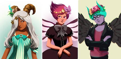 Human Avatars by It-is-a-circle