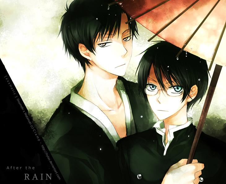 DeviantA.... Mais.... QU'EST-CE QUE C'EST ?!? XxxHolic___After_the_rain_by_Hylas