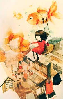 Flying With the Goldfish