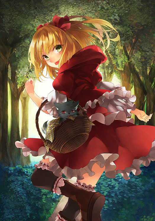 Little Red Riding Hood by isxelle