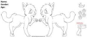 Line Art- Cat Reff