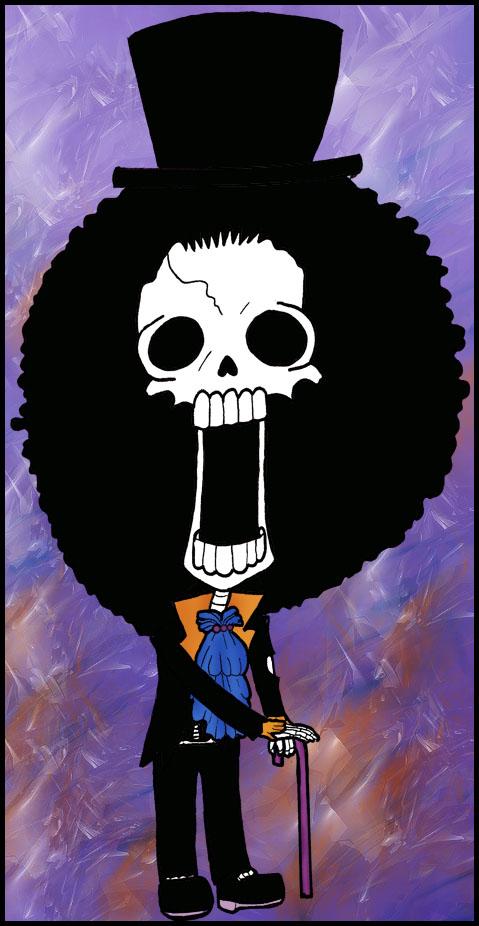 One Piece Chibi Brook Brook Chibi by Hoskar ...