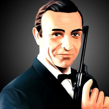 Sean Connery 007 by Hoskar
