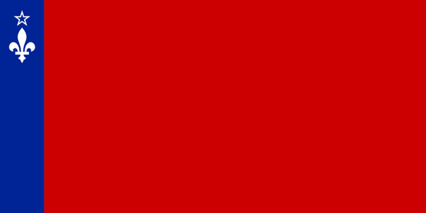 Flag of the quebecian Socialist Republic by Jaglion