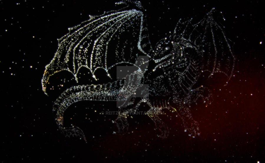 Draco constellation by reitzg on DeviantArt