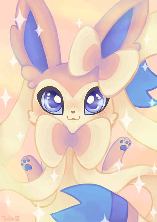 Sylveon by TrefleIX