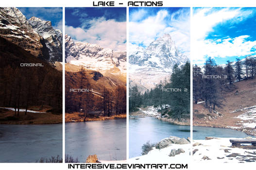 Lake - Photoshop Actions
