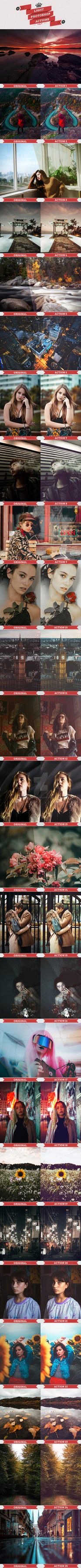 Light Photoshop Actions by interesive